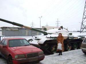 У танка